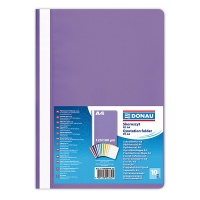 Report File DONAU, PP, A4, standard, 120/180 micron, purple
