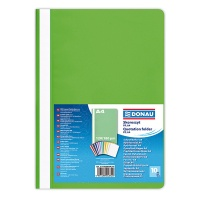 Report File DONAU, PP, A4, standard, 120/180 micron, light green