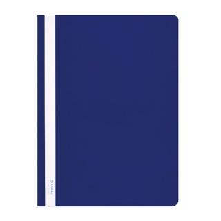 Skoroszyt DONAU, PVC, A4, twardy, 150/160mikr., niebieski, Skoroszyty podstawowe, Archiwizacja dokumentów