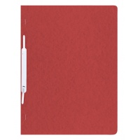 Skoroszyt preszpan A4 twardy 390gsm czerwony, Skoroszyty pozostałe, Archiwizacja dokumentów