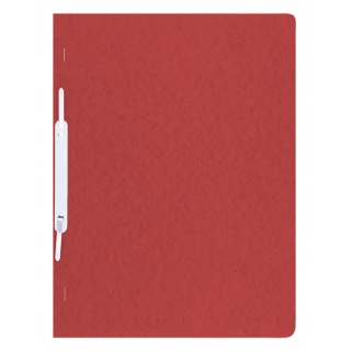 Skoroszyt DONAU, preszpan, A4, twardy, 390gsm, czerwony, Skoroszyty pozostałe, Archiwizacja dokumentów
