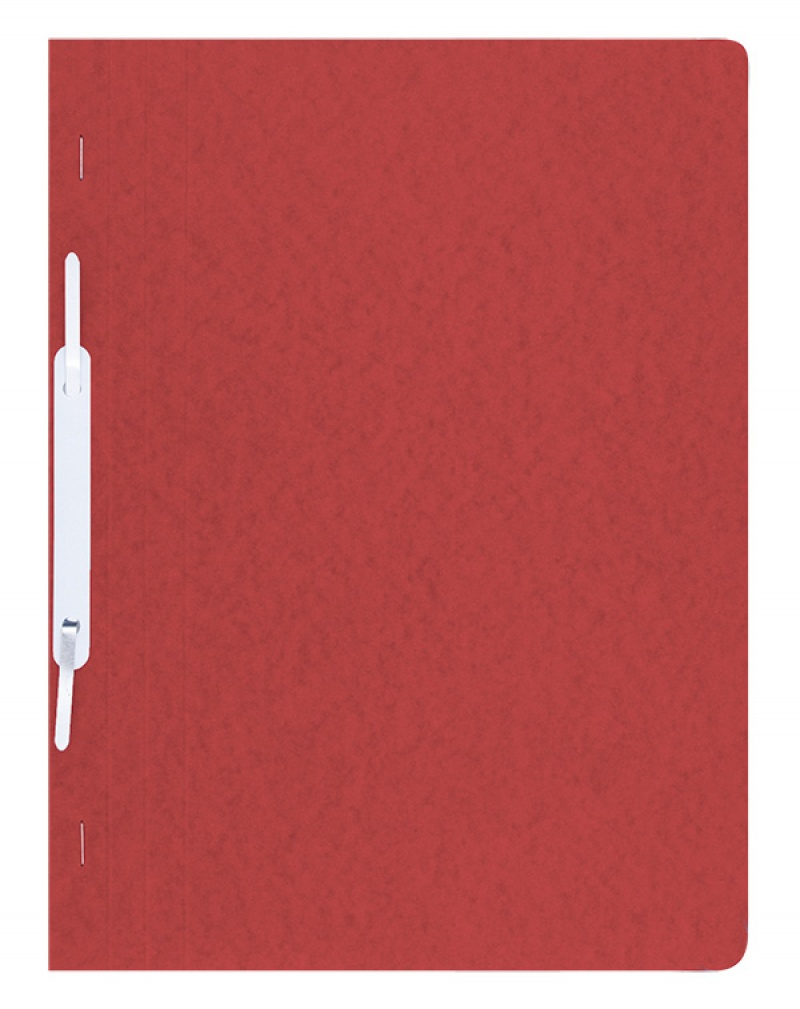 Report File DONAU, pressed board, A4, hard, 390gsm, red