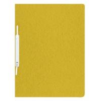 Skoroszyt preszpan A4 twardy 390gsm żółty, Skoroszyty pozostałe, Archiwizacja dokumentów