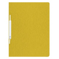 Report File DONAU, pressed board, A4, hard, 390gsm, yellow