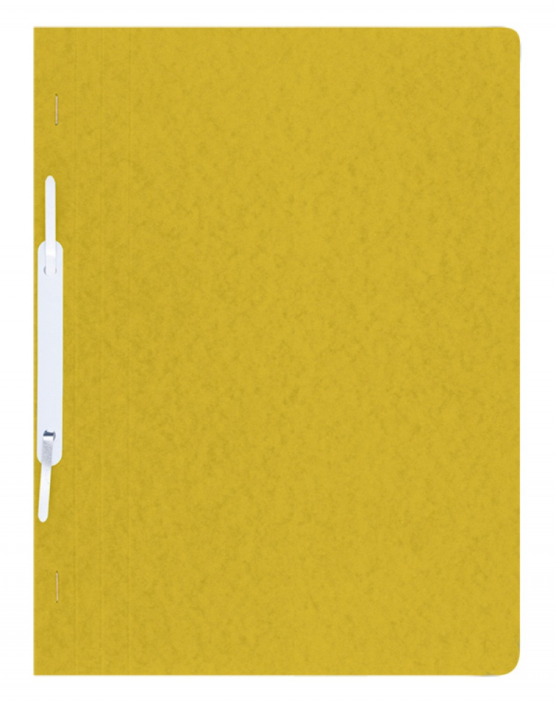 Report File DONAU, pressed board, A4, hard, 390gsm, yellow