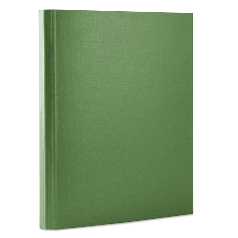 File, velcro fastening, DONAU, PP, A4/3. 5cm, 3 flaps, green