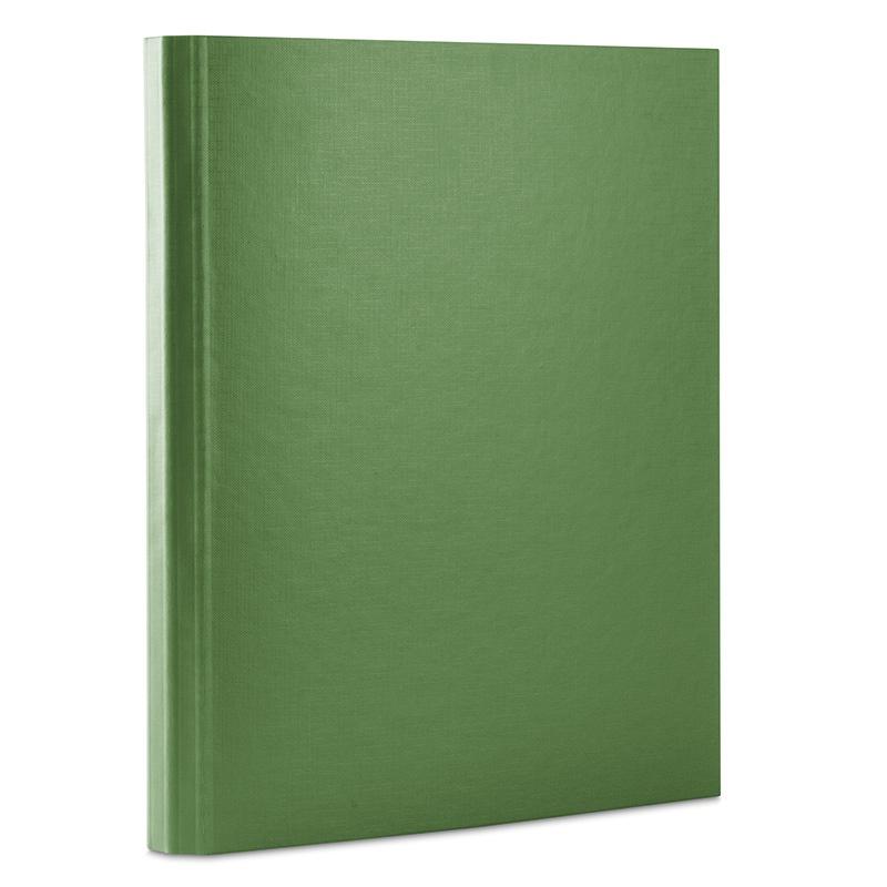 Teczka z rzepem DONAU, PP, A4/3,5cm, 3-skrz., zielona