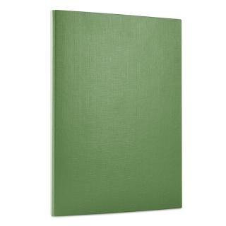 Teczka z rzepem DONAU, PP, A4/1,5cm, 3-skrz., zielona