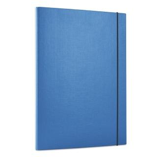 Teczka z gumką DONAU, PP, A4/15, 3-skrz., niebieska, Teczki przestrzenne, Archiwizacja dokumentów