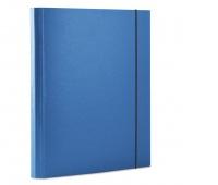 Teczka z gumką DONAU, PP, A4/30, 3-skrz., niebieska, Teczki przestrzenne, Archiwizacja dokumentów