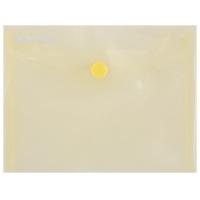 Teczka kopertowa DONAU zatrzask, PP, A6, 180mikr., żółta, Teczki płaskie, Archiwizacja dokumentów