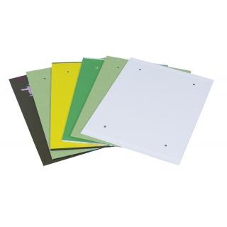 Fascykuła DONAU, tektura/PP/PVC, A4, mix kolorów, Fascykuły, Archiwizacja dokumentów