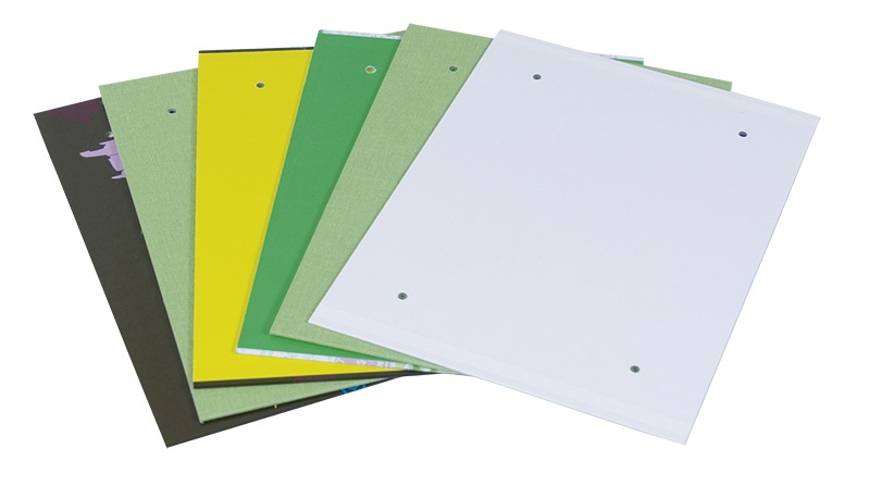 Archiving Cover (Fascicle) DONAU, cardboard/PPPVC, A4, assorted colours