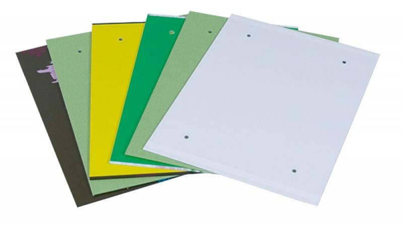 Fascykuła DONAU z etykietą, tektura/PP, A4, mix kolorów, Fascykuły, Archiwizacja dokumentów
