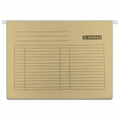 Suspension File DONAU A4, 230gsm, brown