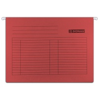 Suspension File DONAU A4, 230gsm, red
