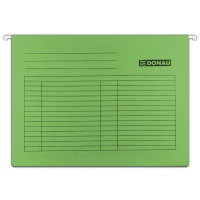 Suspension File DONAU A4, 230gsm, green