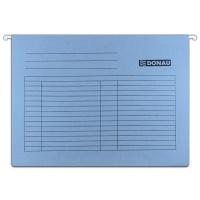 Teczka zawieszkowa DONAU, A4, 230gsm, niebieska