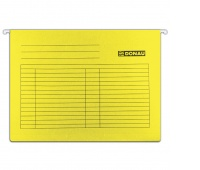 Suspension File DONAU A4, 230gsm, yellow
