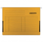 Teczka zawieszkowa DONAU z boczkami, A4, 230gsm, pomarańczowa, Teczki zawieszkowe, Archiwizacja dokumentów