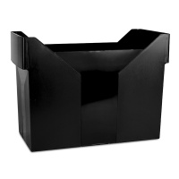 Mini Archive File Box DONAU, plastic, black