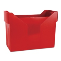Mini Archive File Box DONAU, plastic, red