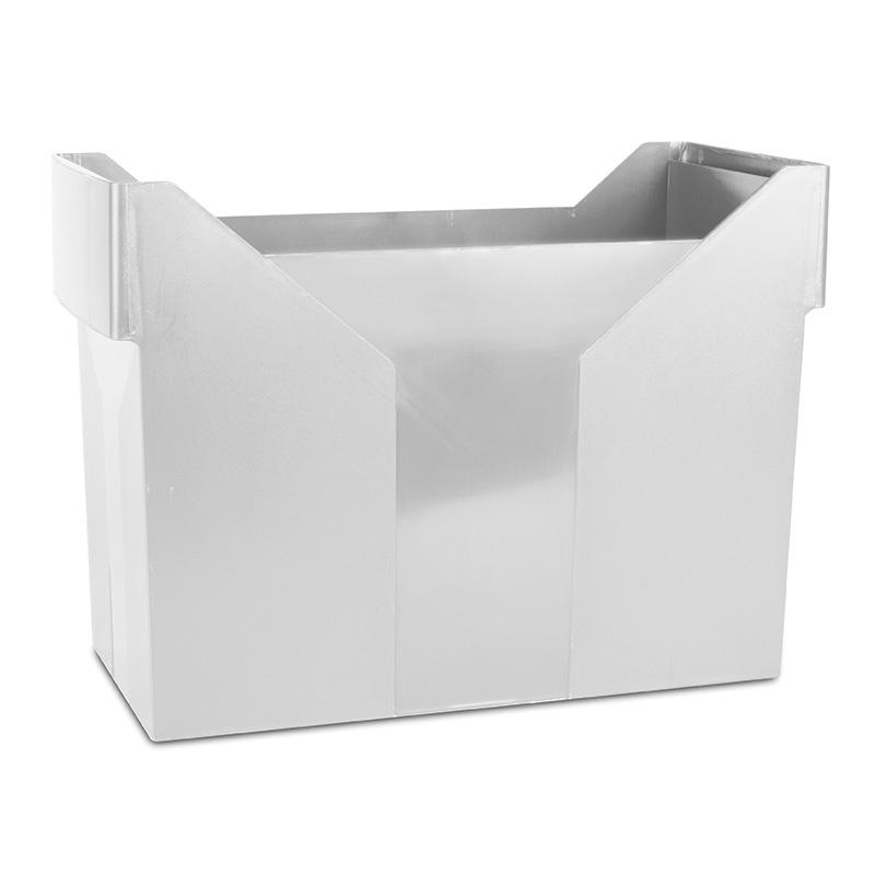 Mini Archive File Box DONAU, plastic, grey