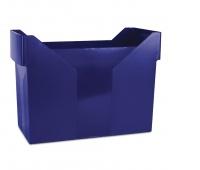 Mini Archive File Box DONAU, plastic, navy blue