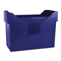 Mini Archive File Box DONAU, plastic, navy blue
