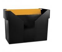 Mini Archive File Box DONAU, plastic, black, 5 files FREE