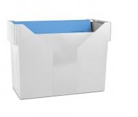 Mini archiwum DONAU, plastikowe, szare, 5 teczek