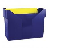 Mini Archive File Box DONAU, plastic, navy blue, 5 files FREE