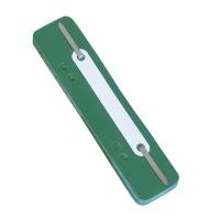 Wąsy skoroszytowe DONAU, PP, z metalową blaszką, 25szt., zielone, Wąsy, Archiwizacja dokumentów