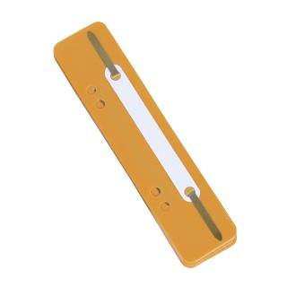 Wąsy skoroszytowe DONAU, PP, z metalową blaszką, 25szt., pomarańczowe, Wąsy, Archiwizacja dokumentów