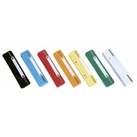 File Fasteners DONAU, PP, metal strip, 25pcs, assorted colours