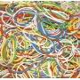 Gumki recepturki DONAU, 500g, mix kolorów, Gumki recepturki, Drobne akcesoria biurowe