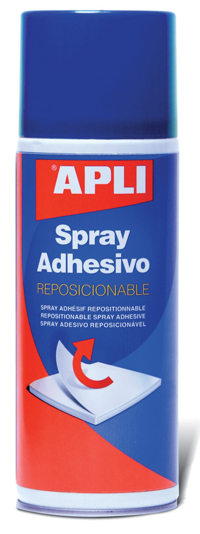 Spray Mount Adhesive Can 3M APLI, repositionable, 400ml