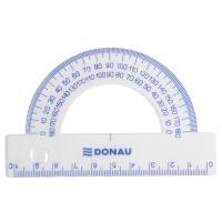 Protractor DONAU, 10cm, 180°, clear