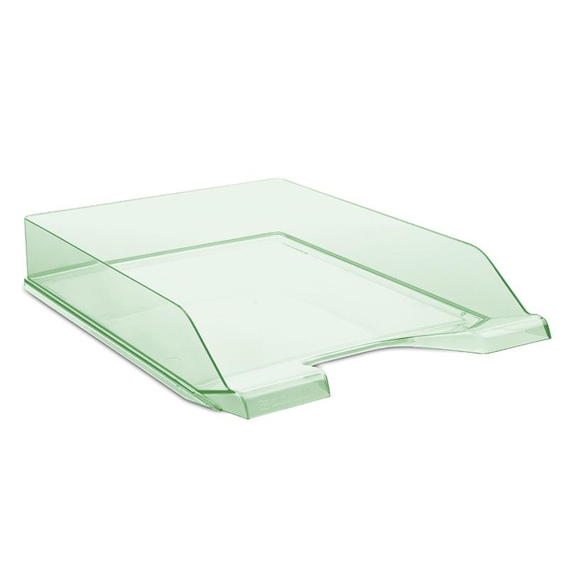 Desktop Letter Tray DONAU, polystyrene, A4, standard, green