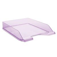 Desktop Letter Tray DONAU, polystyrene, A4, standard, purple