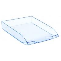 Szufladka na biurko CEP Ice, polistyren, A4, niebieski, Szufladki na biurko, Drobne akcesoria biurowe