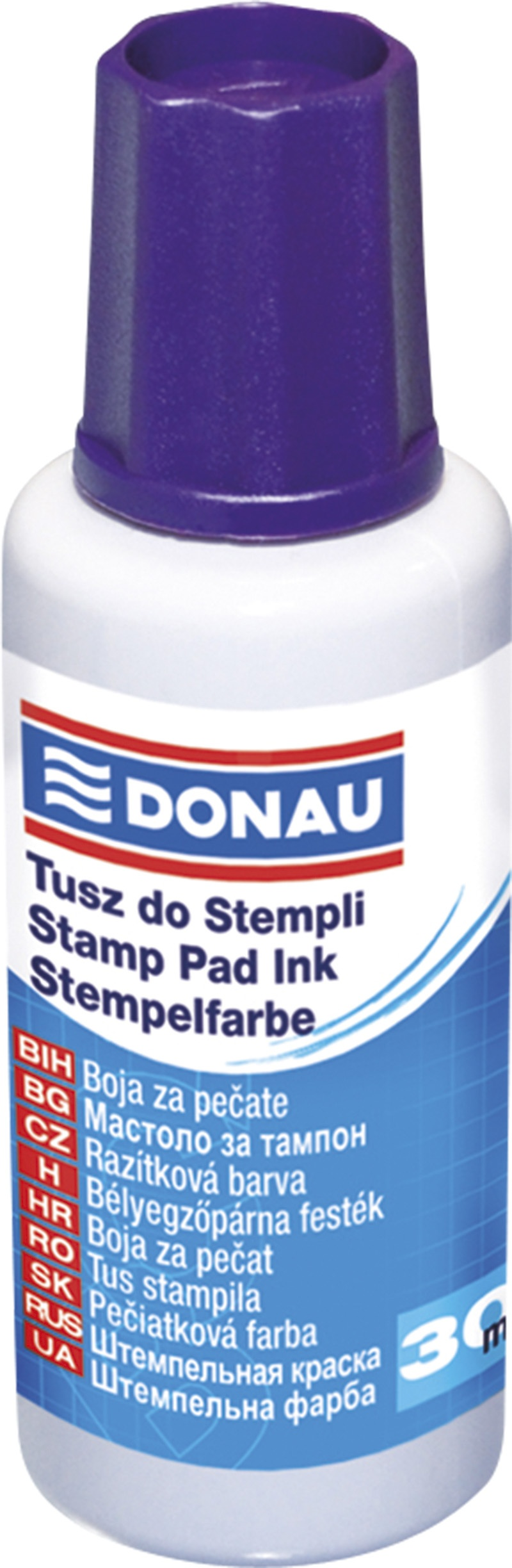 Stamp Ink DONAU, 30ml, purple