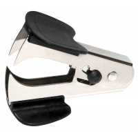 Staple Remover DONAU, with blade locking mechanism, black