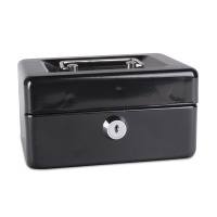 Cash Box DONAU, small, 152x80x115mm, black