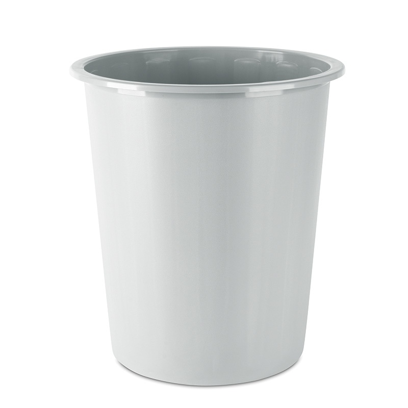 Waste Bin DONAU, 14l, bucket type, grey