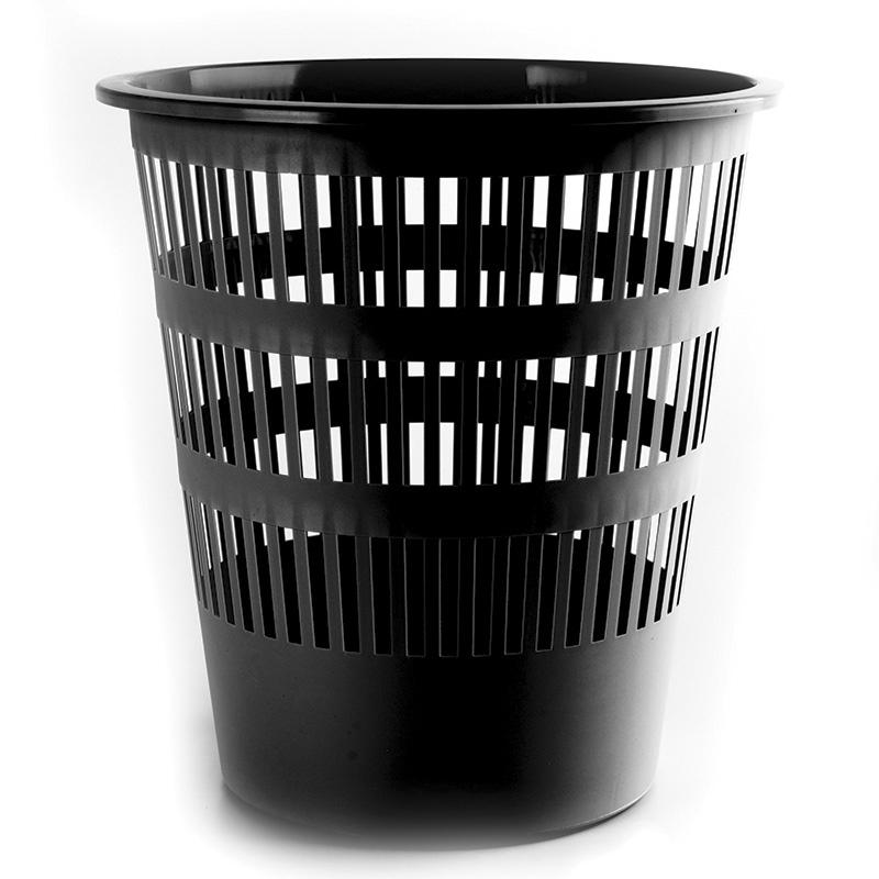 Waste Bin DONAU, mesh, 16l, black