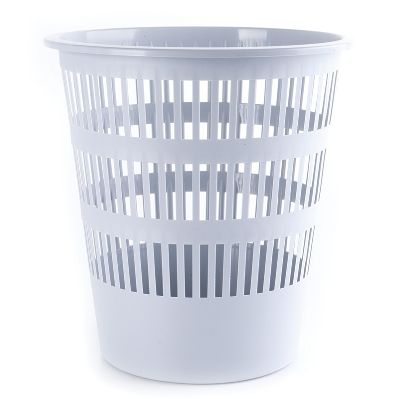 Waste Bin DONAU, mesh, 16l, grey