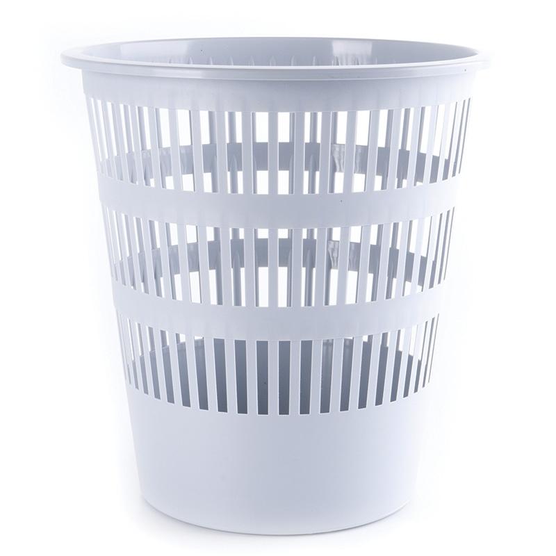 Waste Bin DONAU, mesh, 12l, grey