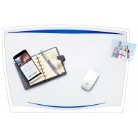 Desk Mat CEP Ice 65. 6x44. 8cm, transparent blue