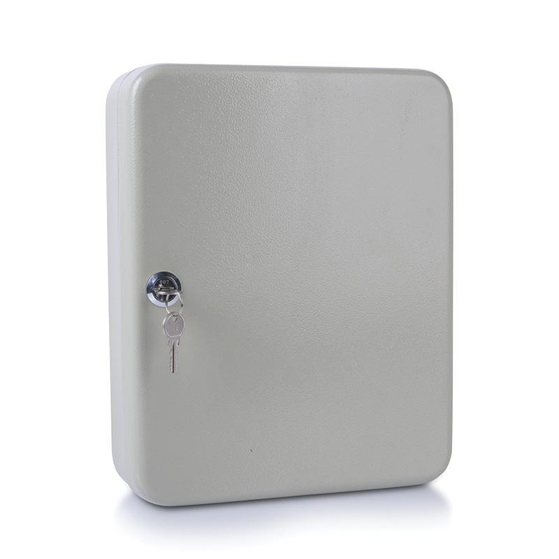 Key Cabinet DONAU, for 93 keys, 300x240x80mm, grey